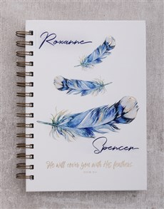 gifts: Feathers Christian Journal!