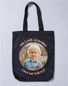 gifts: Personalised Love Grandma Tote Bag!