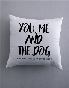 gifts: Personalised Sharing Scatter Cushion!