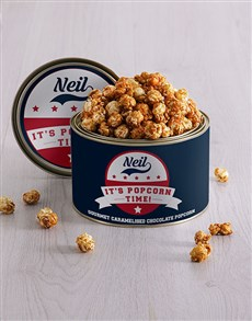 gifts: Personalised Popcorn Time Tin!