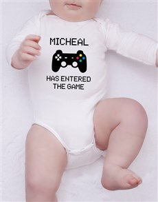 gifts: Personalised Player Onesie!