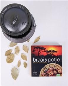 gifts: Personalised Braai & Potjie Cookbook!