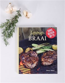 gifts: Personalised Japtrap Braai Cookbook!