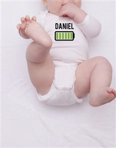 gifts: Personalised Charged Baby Onesie!