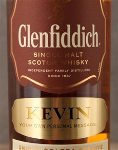 gifts: Personalised Glenfiddich 15yr!