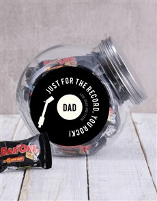gifts: Personalised You Rock Candy Jar!
