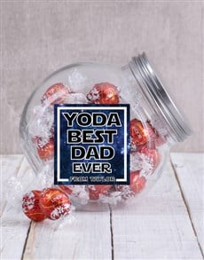 gifts: Personalised Yoda Best Candy Jar!
