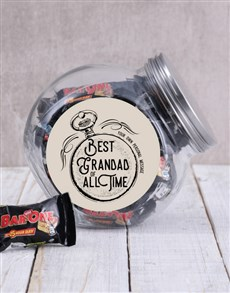 gifts: Personalised All Time Candy Jar!