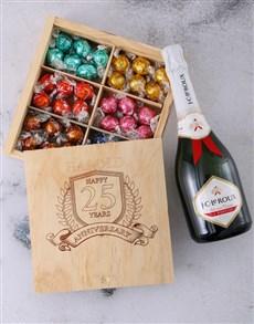 gifts: Personalised Anniversary Year Choc Box!