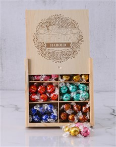 gifts: Personalised Birthday Bliss Lindt Box!