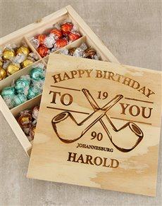 gifts: Personalised Pipe Birthday Box!