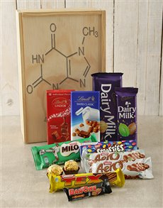 gifts: Personalised Chemistry Chocolate Crate!
