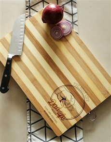 gifts: Personalised Dad Life Chopping Board!