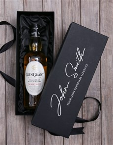 gifts: Personalised Single Malt Whisky Box!