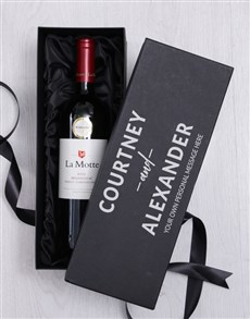 gifts: Personalised Love Wine Giftbox!