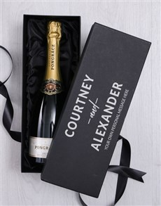 gifts: Personalised Love Bubbly Giftbox!