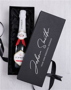 gifts: Personalised Signature Bubbly Giftbox!