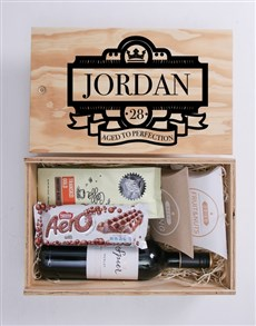 gifts: Personalised Deco Man Crate!