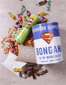 gifts: Personalised Superman Bro Bucket!