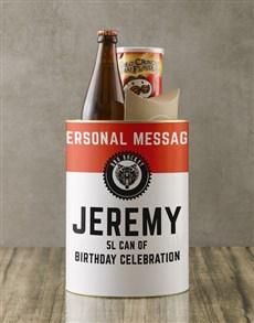 gifts: Personalised Birthday Bro Bucket!