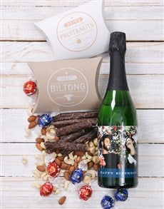 gifts: Personalised Birthday Photo Gourmet Hamper!