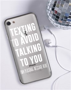 gifts: Personalised Texting iPhone Cover!