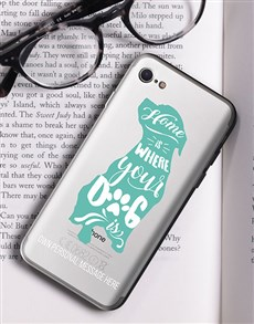 gifts: Personalised Dog Lover iPhone Cover!