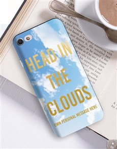 gifts: Personalised Clouds iPhone Cover!