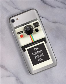 gifts: Personalised Polaroid iPhone Cover!