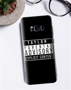 gifts: Personalised Explicit Content Samsung Cover!
