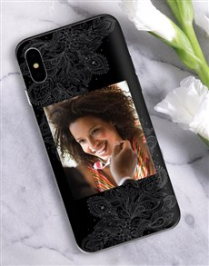 gifts: Personalised Mehndi Photo iPhone Cover!