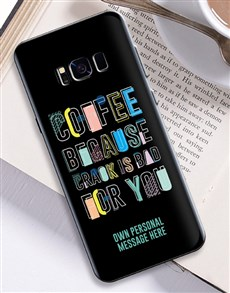 gifts: Personalised Coffee Samsung Cover!