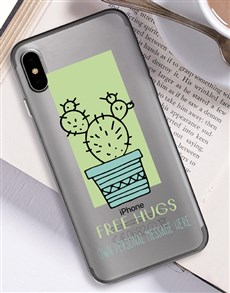 gifts: Personalised Cactus iPhone Cover!