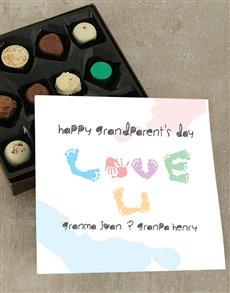 gifts: Grandparents Love U Chocolate Tray!
