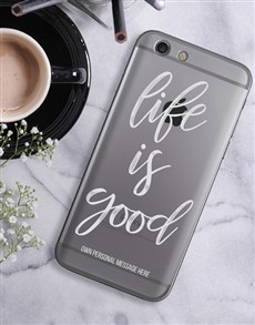 gifts: Personalised Good Life iPhone Cover!