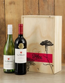 gifts: Personalised Rose Printed Duo Crate!