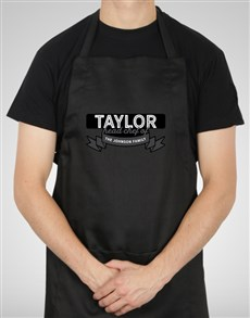 gifts: Personalised Head Chef Apron!