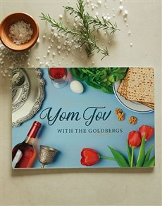 gifts: Yom Tov glass chopping board!