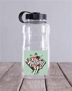 gifts: Personalised Killing it Water Bottle!