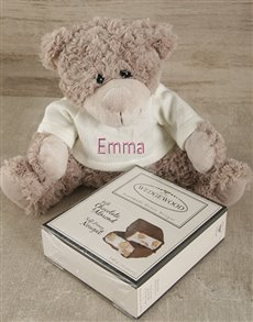 gifts: Personalised Lots of Luck Teddy and Nougat!