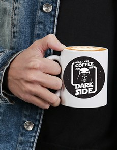 gifts: Dark Side Mug Personalised!