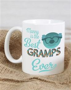 gifts: Personalised Best Gramps Mug!