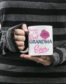 gifts: Personalised Best Grandma Mug!
