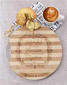 gifts: Personalised Family and Friends Chopping Board!