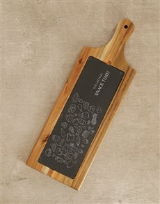 gifts: Personalised Snack Time Chopping Board!