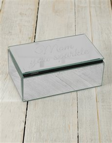 gifts: Personalised Mirror Trinket Box!
