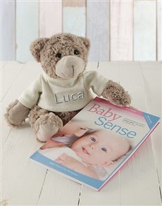 gifts: Personalised Baby Sense Book Gift Set!