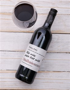 gifts: Personalised Pairing Red Wine!