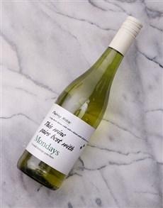 gifts: Personalised Pairing White Wine!