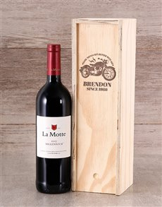 gifts: Personalised Better With Age Wine Crate!